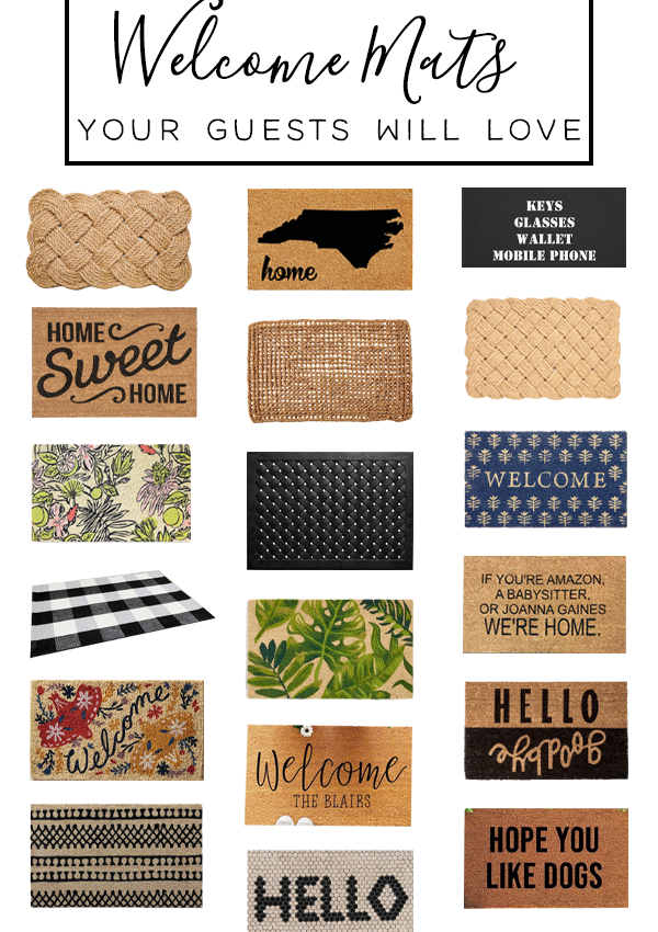 19 Welcome Mats to Greet Guests in Style