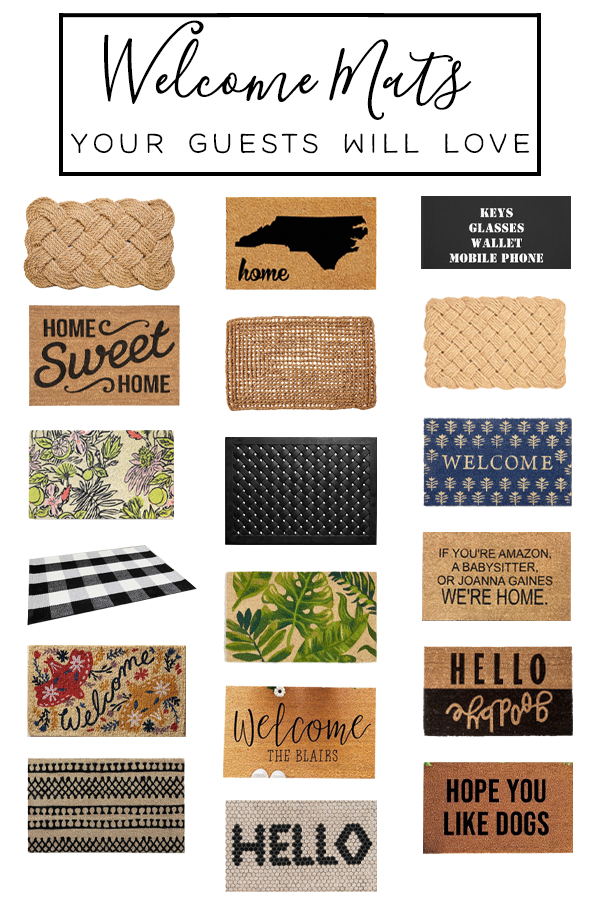 18 Best Welcome Mats to Greet Guests in Style