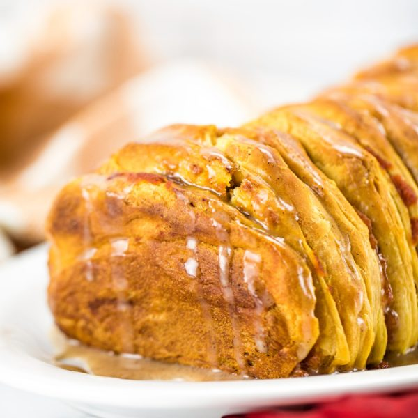 Easy Pumpkin Spice Pull-Apart Bread (so delicious and easy!)