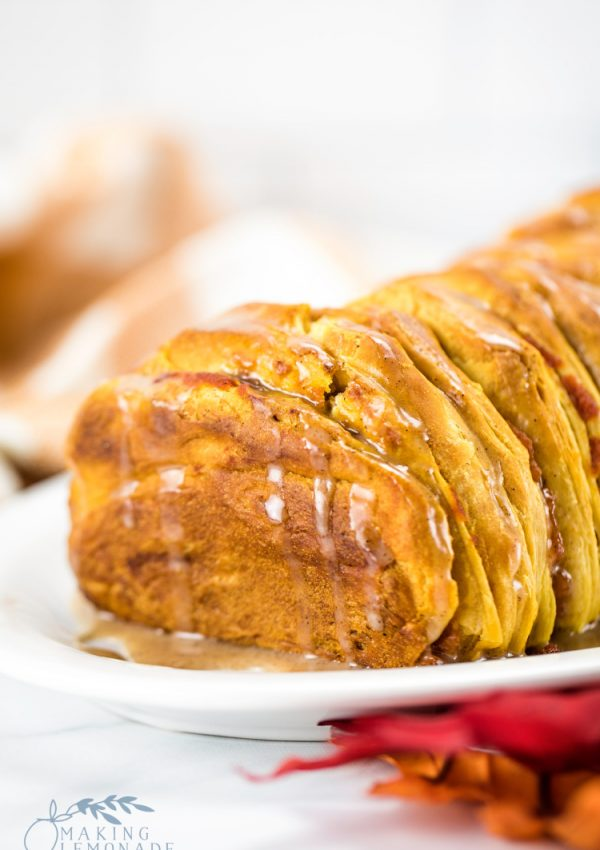 Easy & Delicious Pull-Apart Pumpkin Spice Bread