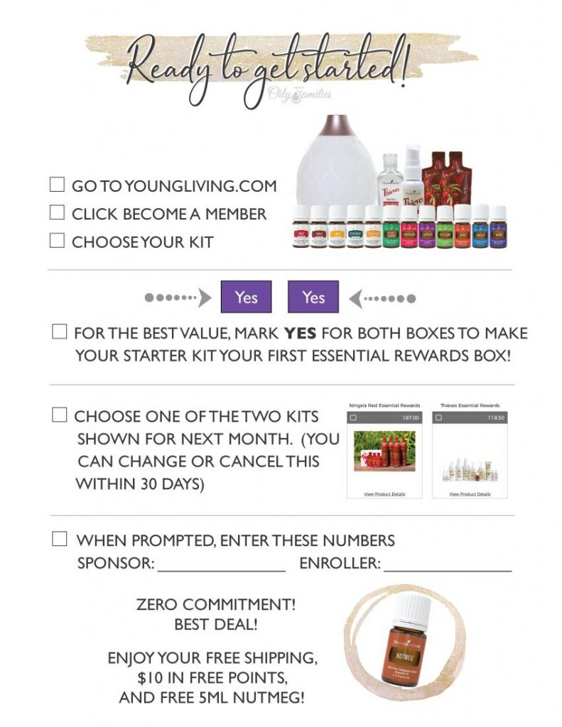 best deal on the Young Living Starter Kit