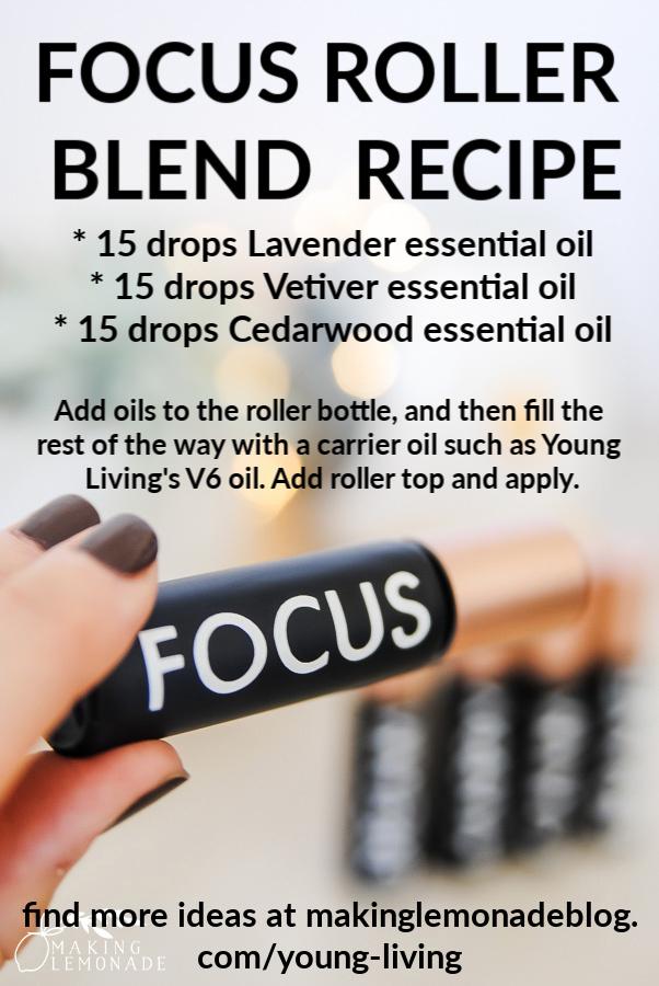 focus essential oil roller recipe for kids (school and homework helper!)