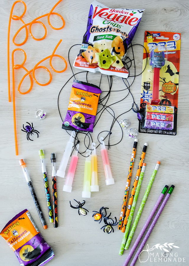 Halloween toys for a BOO bucket