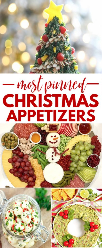 25 Most Pinned Christmas Appetizers (best Christmas party food ever!)