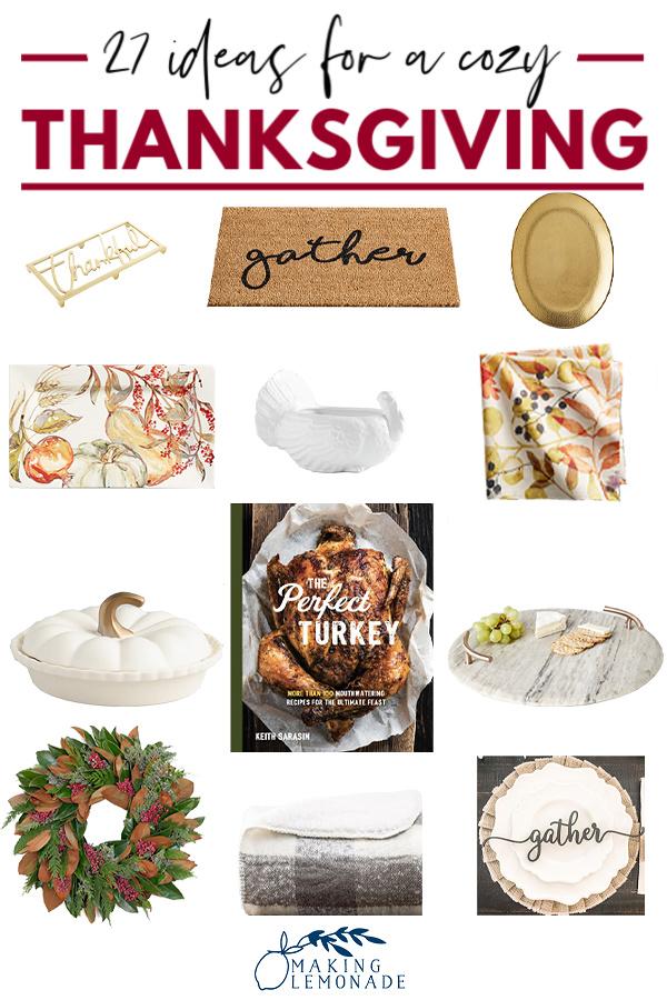 Simple Farmhouse Thanksgiving Table Decor Ideas