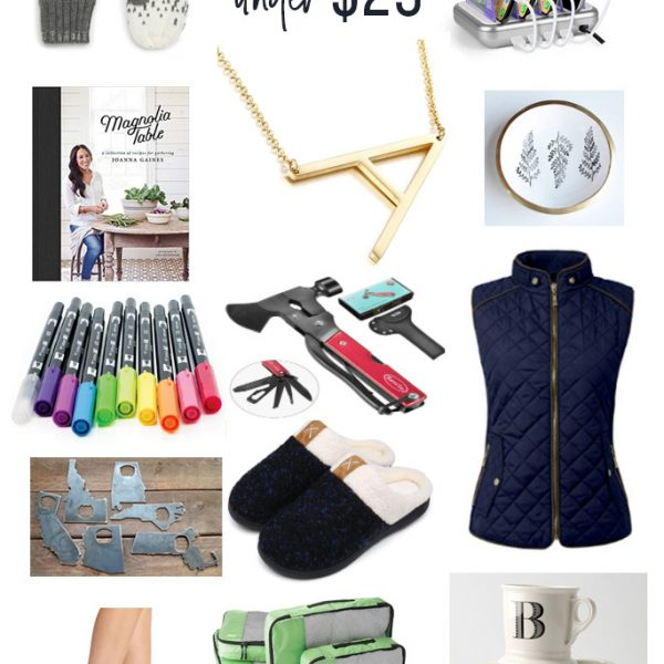 best holiday gifts under $25! (gift guide for women, men, teachers, and friends!)