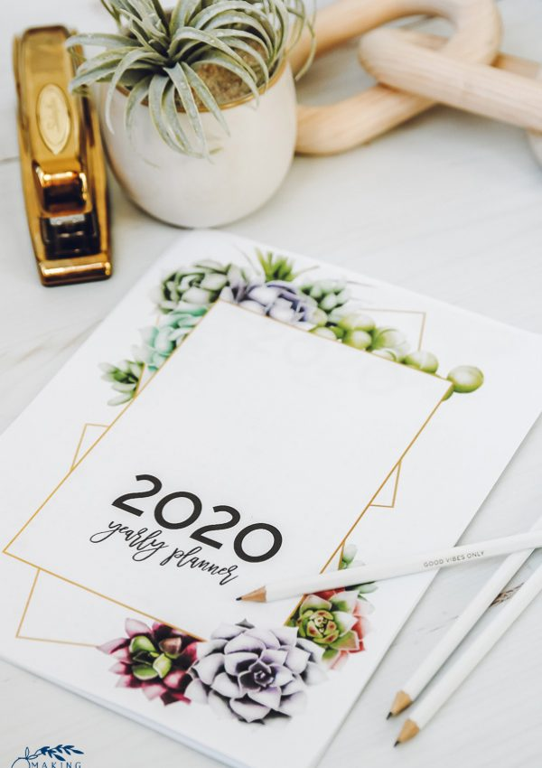 It's Here! Get Your FREE 2020 Printable Planner!