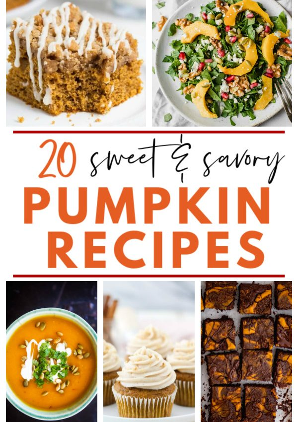 20 Best Sweet & Savory Pumpkin Recipes