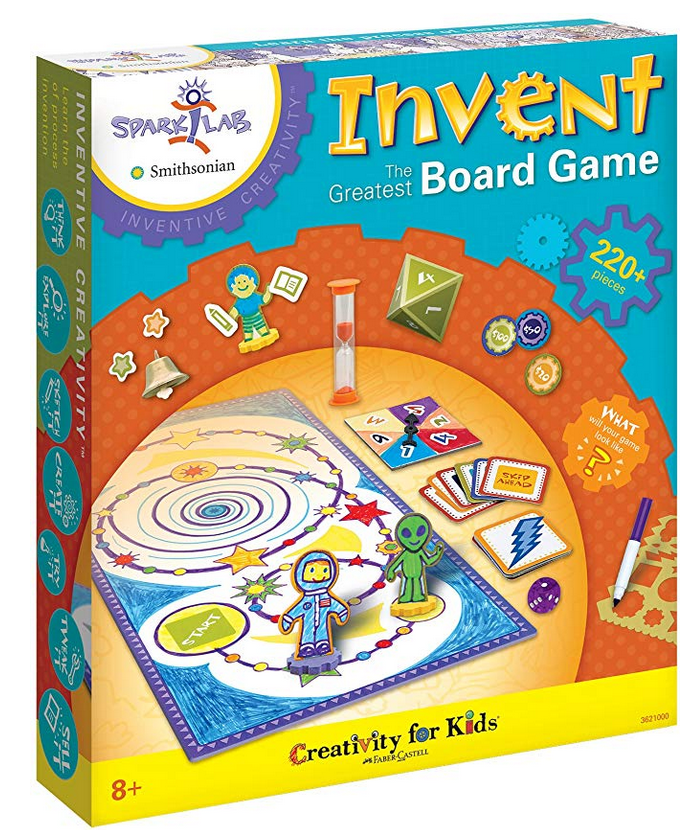 create your own board game kit box