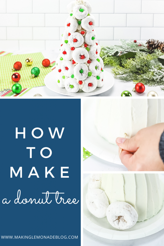 This easy and delicious Christmas Donut Tree is always a huge hit at parties!