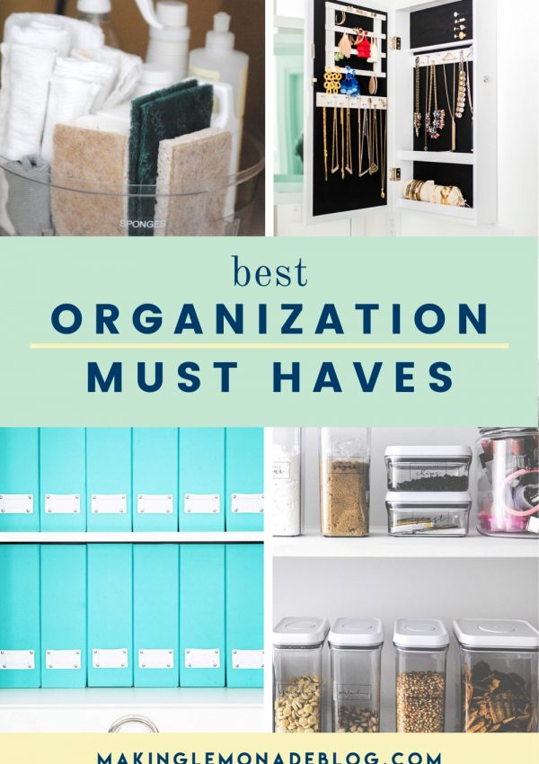 collage pin of best organizational products