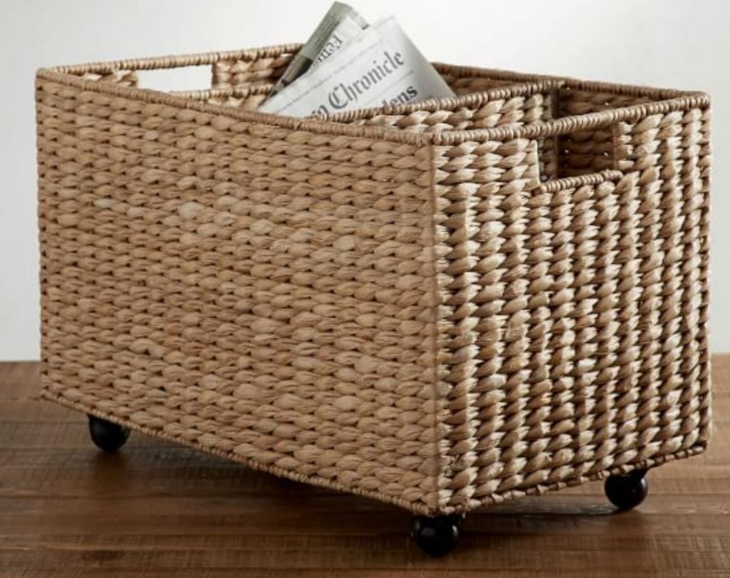 woven sorting basket