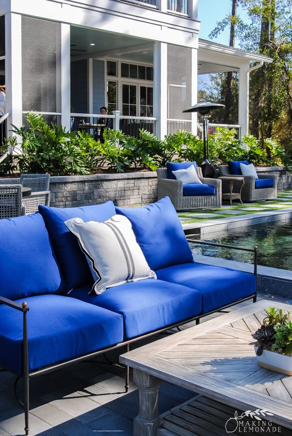 Insider's Tour of the HGTV Dream Home patio and pool
