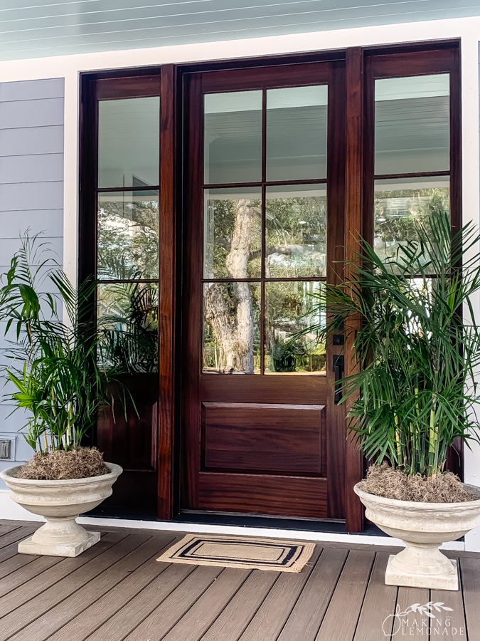 Insider's Tour of the HGTV Dream Home in Hilton Head, South Carolina front door