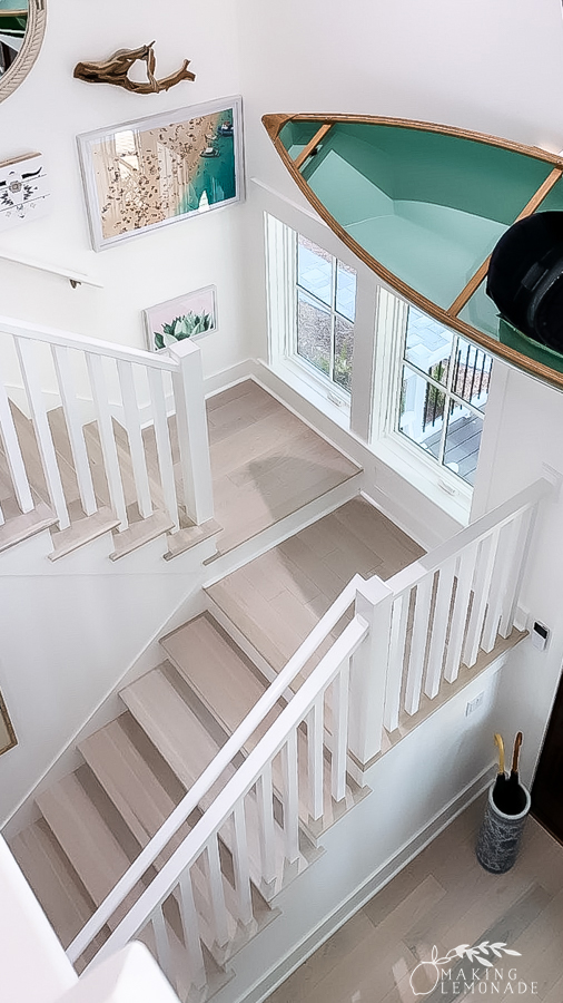 stairs in HGTV Dream Home
