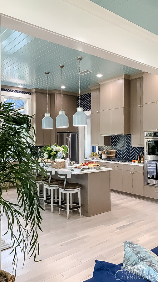 kitchen in HGTV dream home