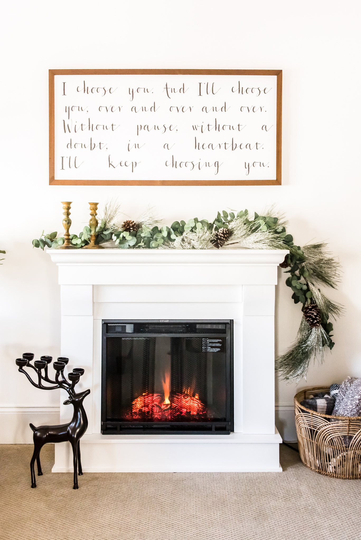 20 Cozy Electric Fireplaces That Look Like the Real Thing ...