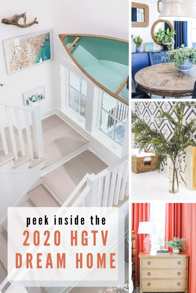 Insider's Tour of the HGTV Dream Home in Hilton Head, South Carolina collage