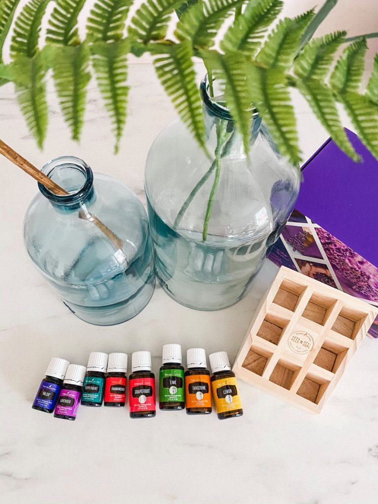 Welcome Home Starter Kit from Young Living with ferns