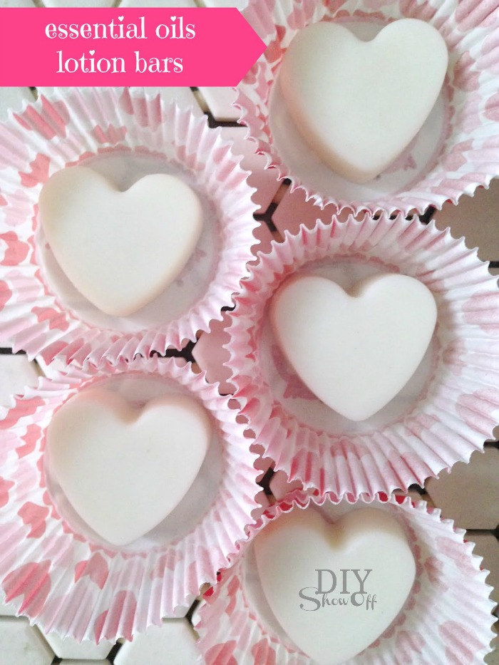 lotion bars in cupcake holders