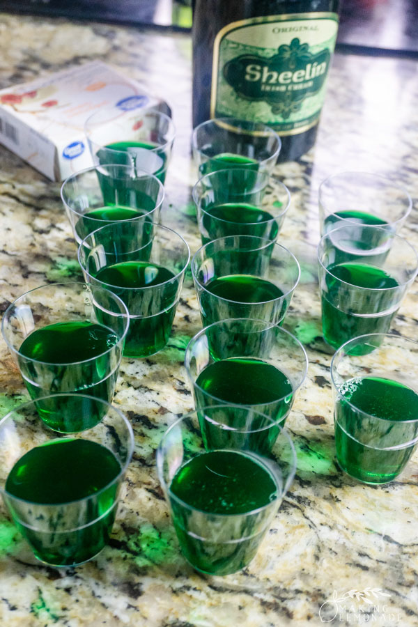 green jello shots with alcohol