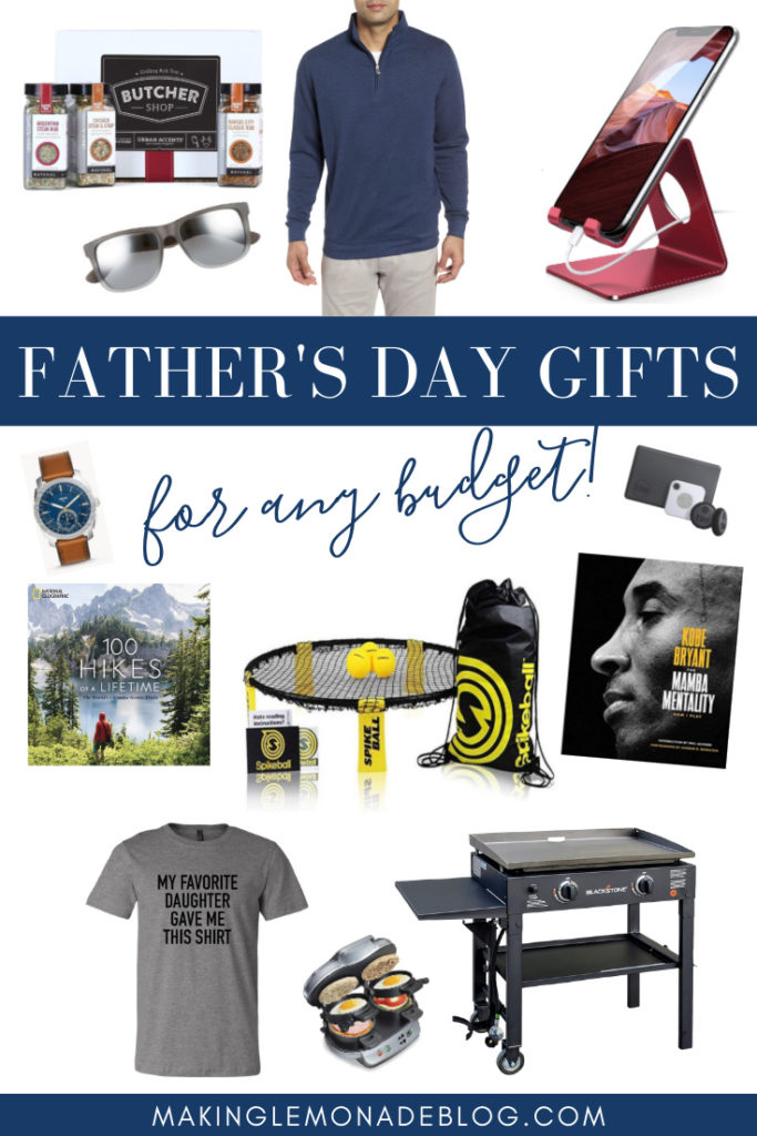 father's day gift ideas collage