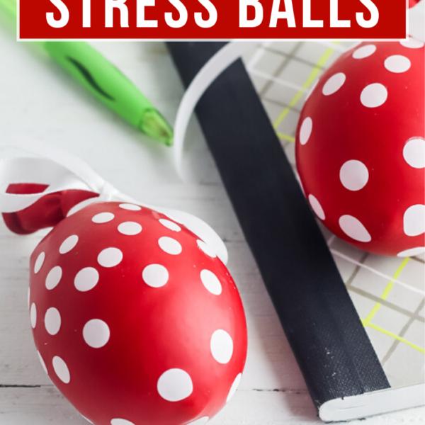 stress ball from a balloon