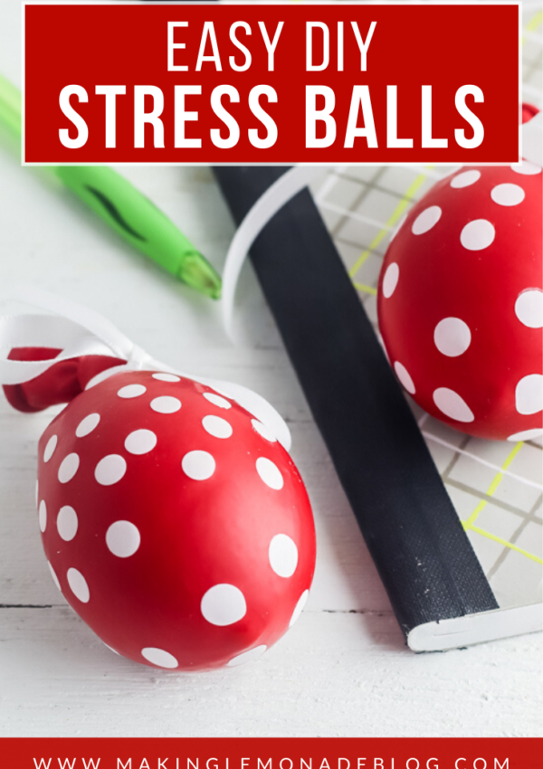 How to Make Homemade Stress Balls