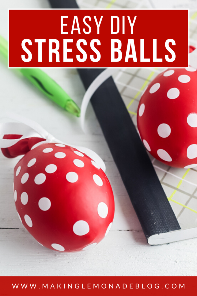 stress ball made from a balloon