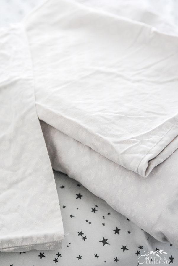 folded sheet set