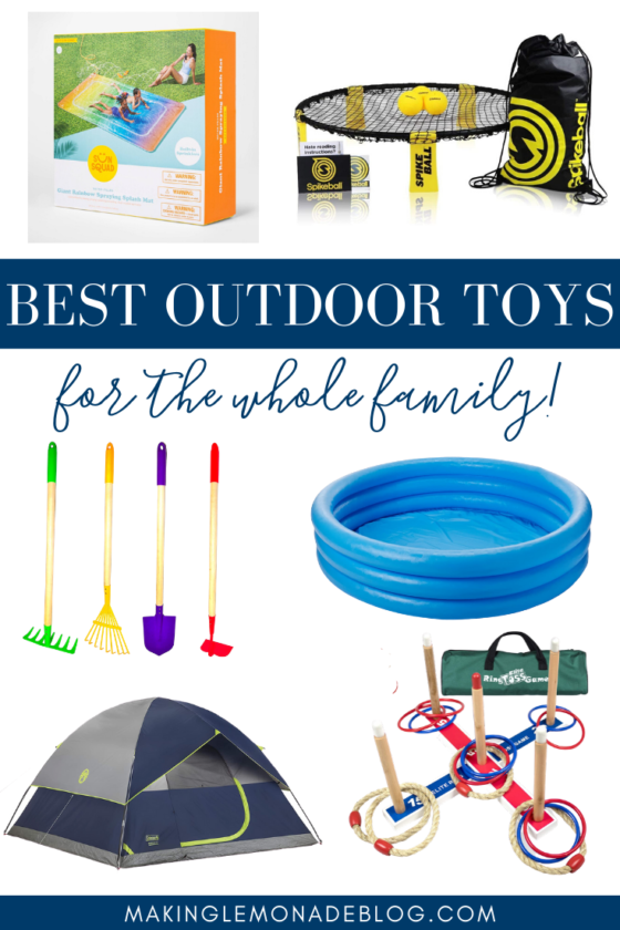 Our Favorite Outdoor Toys & Activities for Summer Fun