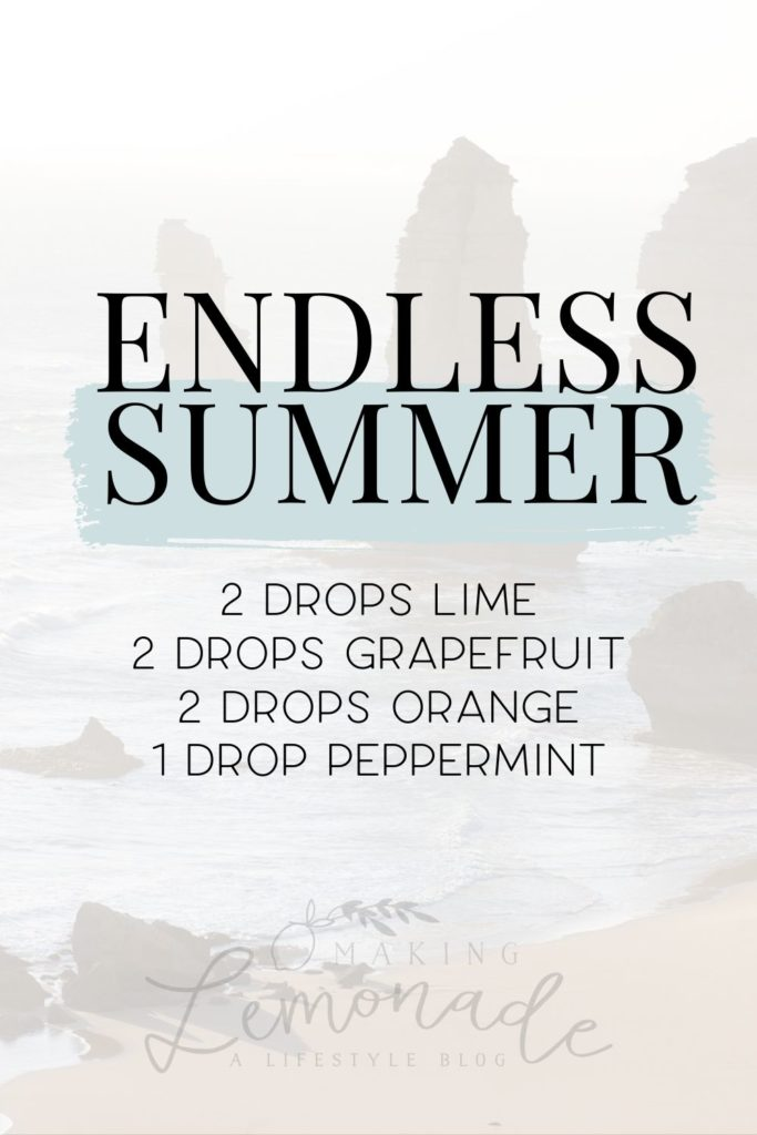 endless summer diffuser blend