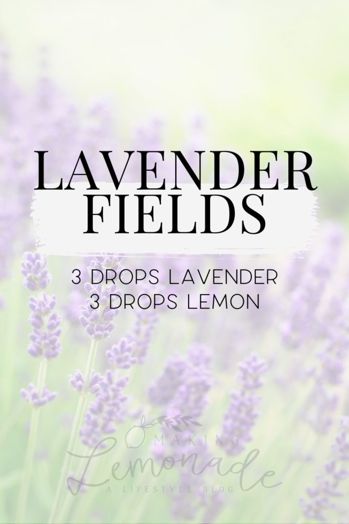 lavender fields diffuser blend recipe