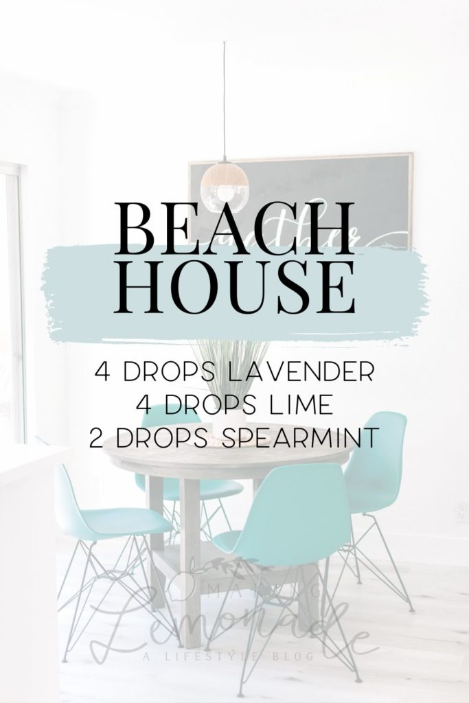 beach house diffuser blend recipe