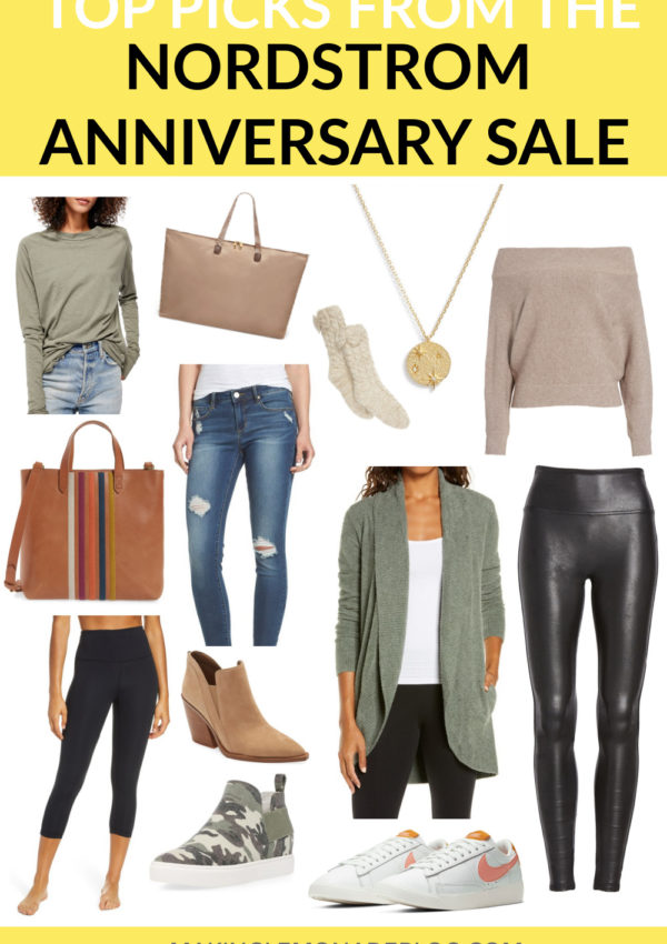 collage of items from the Nordstrom Anniversary Sale