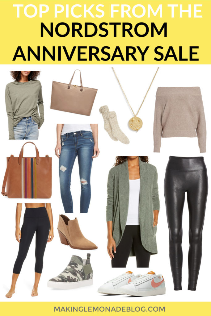 collage of items from the 2020 Nordstrom Anniversary Sale