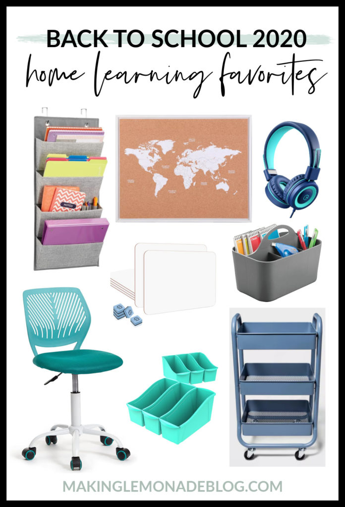 school supplies for distance and home learning