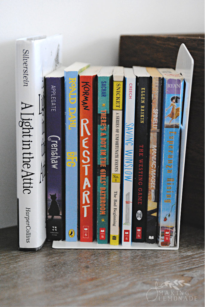 novels with bookends