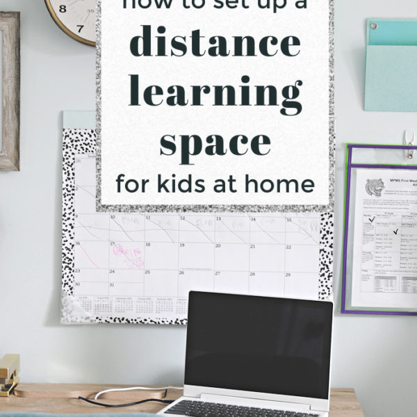 how to set up a distance learning space pin