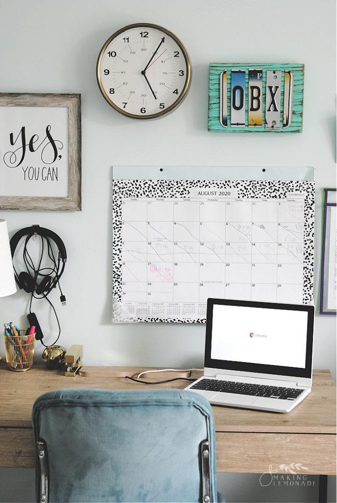 kids desk for home learning