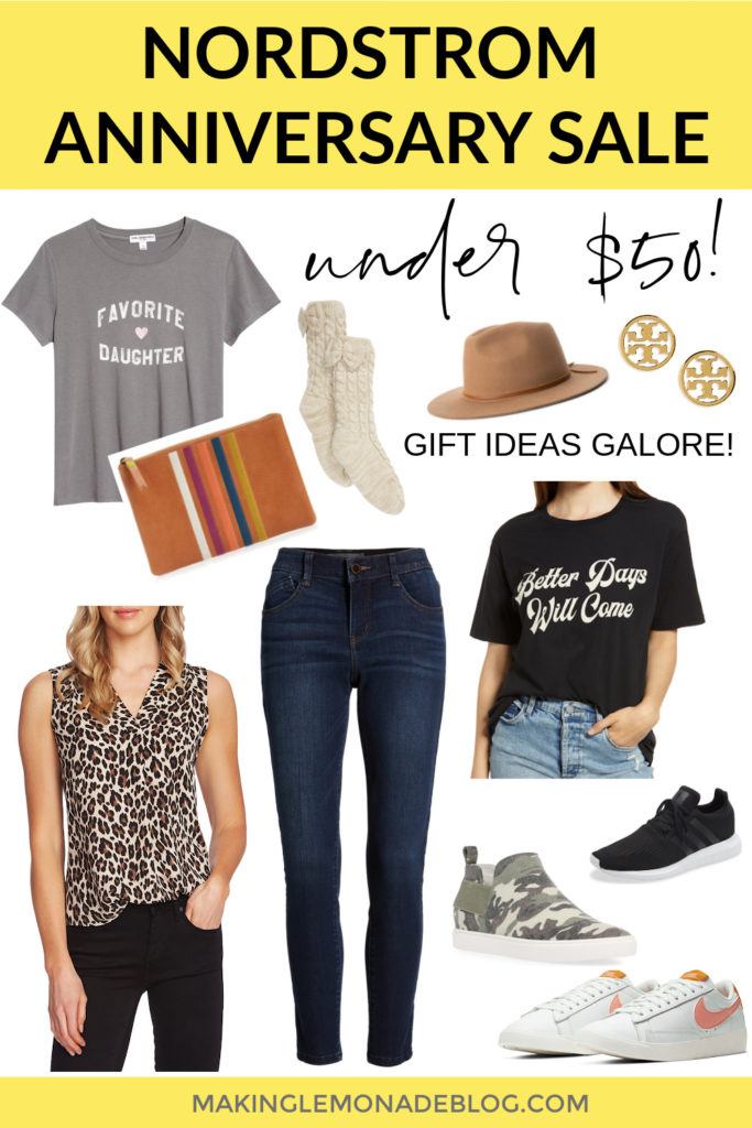 collage of items under $50 from the 2020 Nordstrom Anniversary Sale