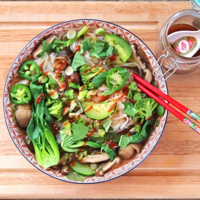 instant pot vegetable pho