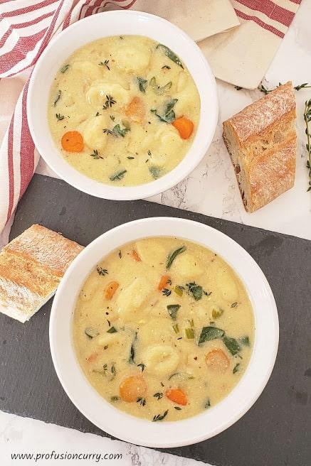 instant pot gnocchi soup