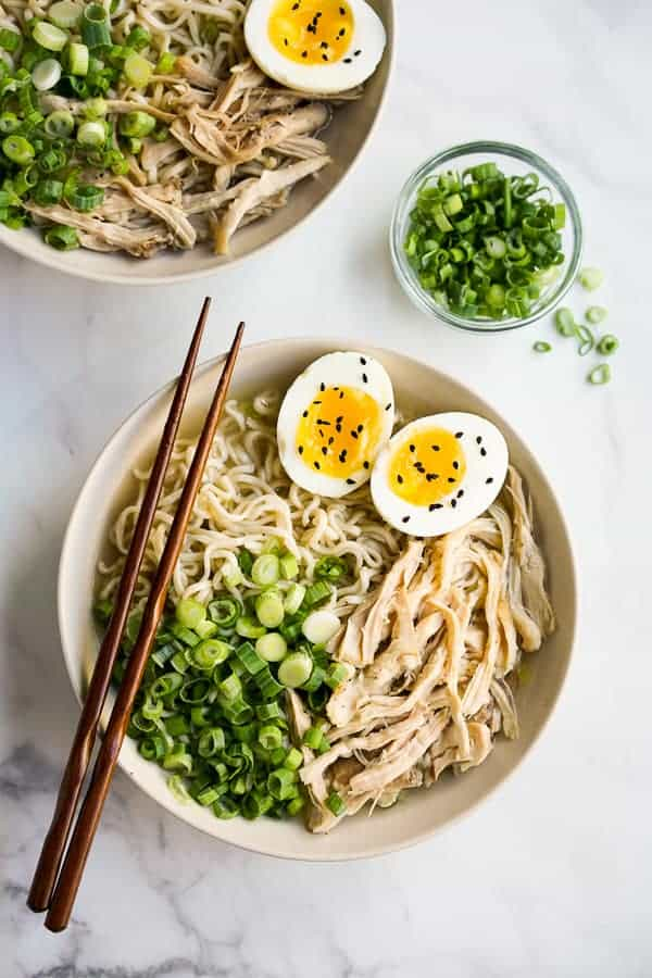 instant pot chicken ramen