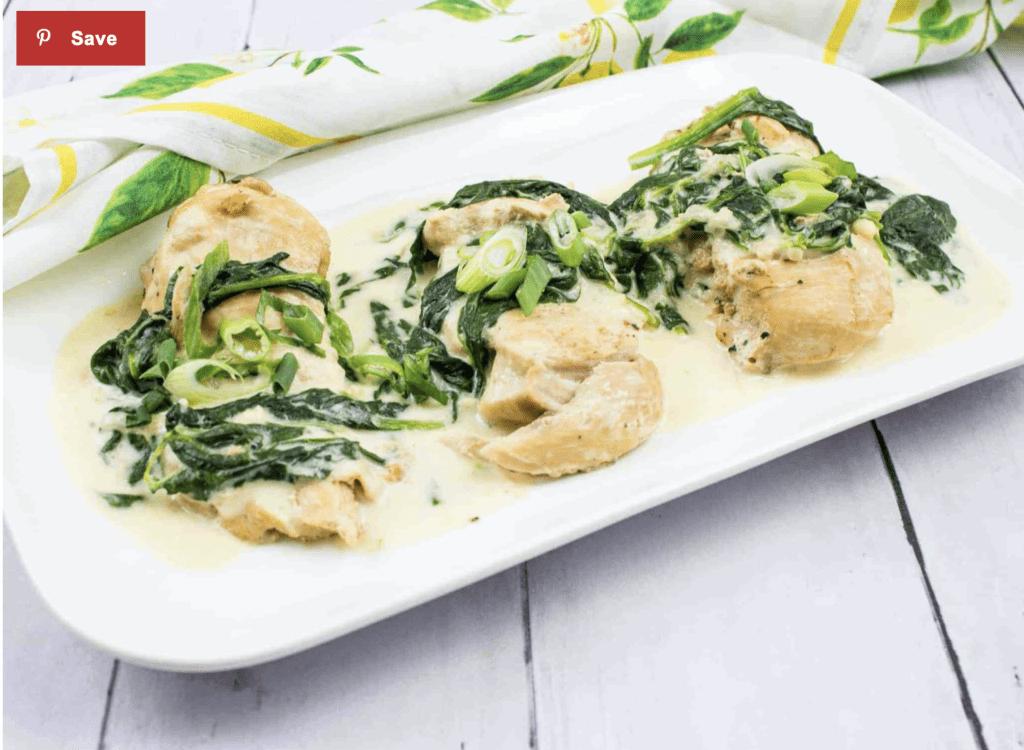instant pot chicken florentine
