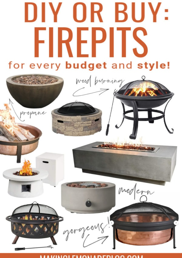 firepit collage