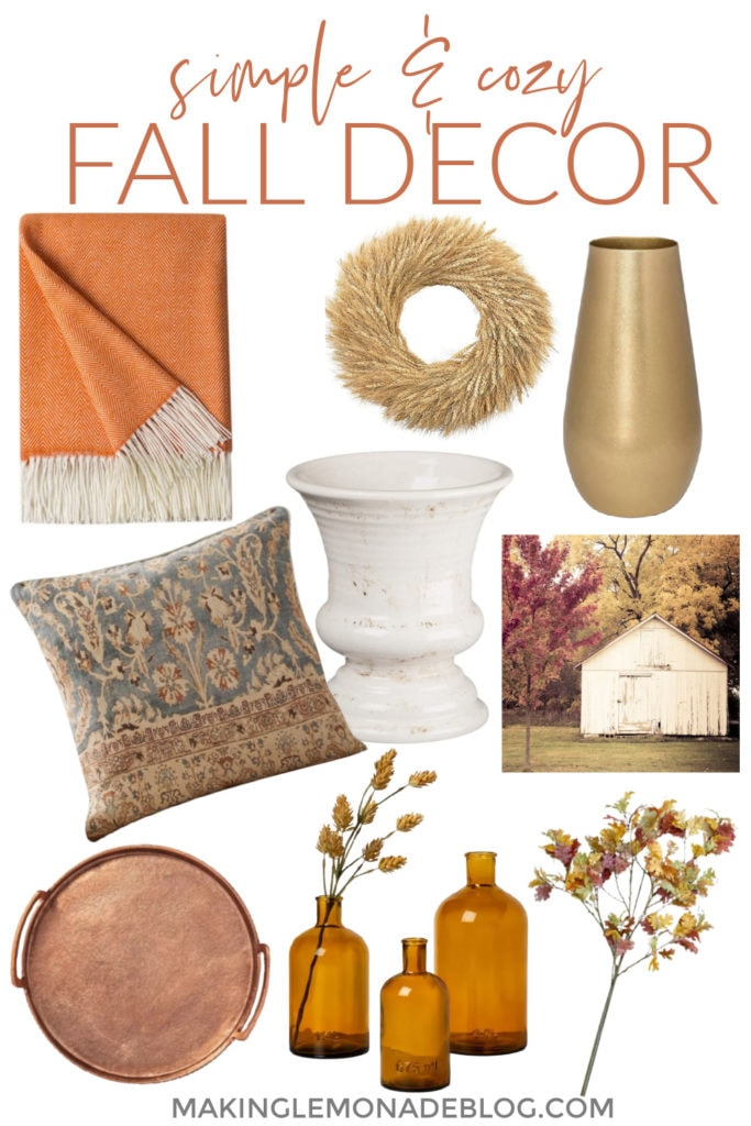 Simple Cozy Fall Decorating Ideas Making Lemonade