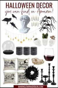25 Best Halloween Decorations on Amazon {Stylish + Spooky!}