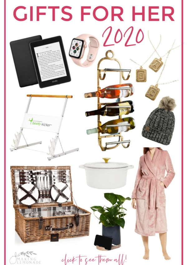 photos of gift ideas for women