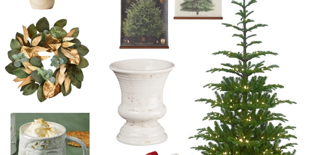 Christmas decorating ideas style board